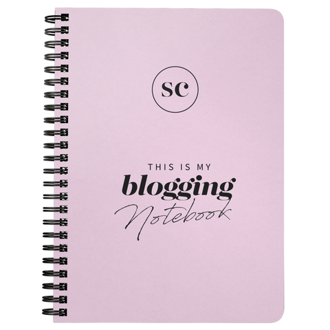 SC Blogging Notebook