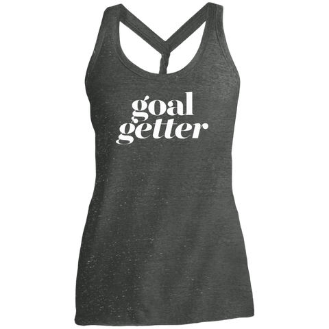 Goal Getter Dark Twist Back Tank