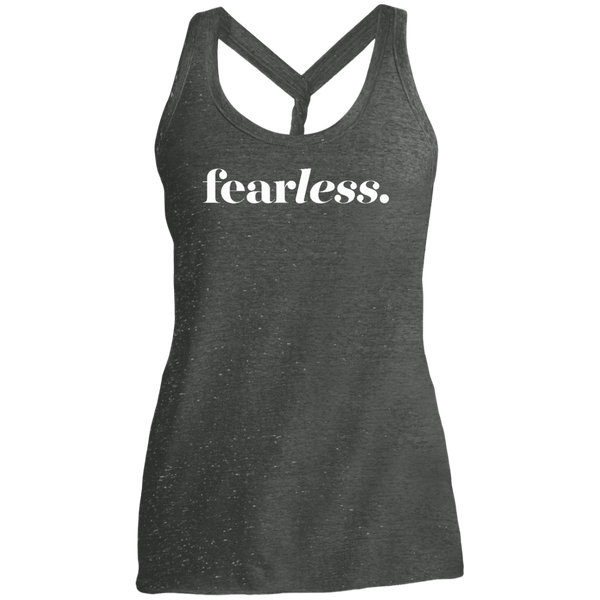 Fearless Dark Twist Back Tank