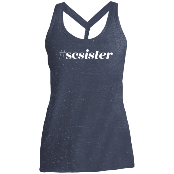 #SCSister Dark Twist Back Tank