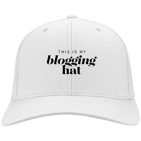 Blogging Hat