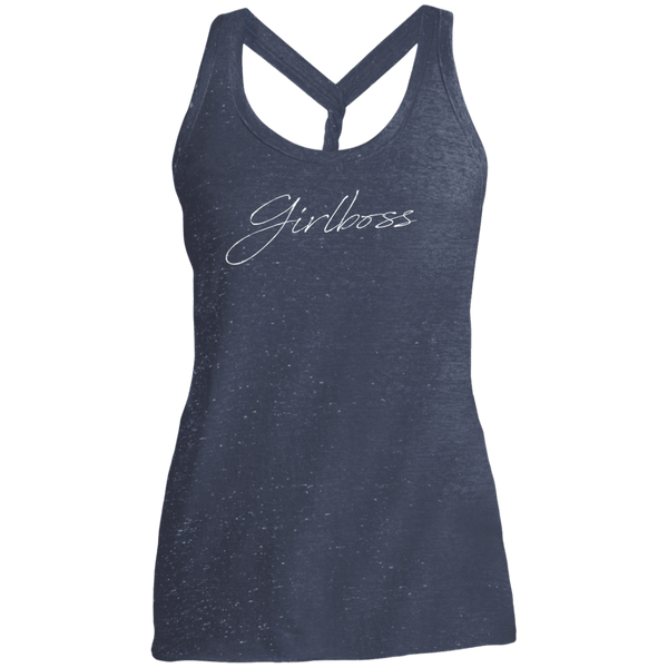 Girlboss Script Dark Twist Back Tank