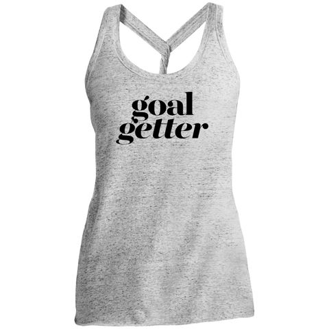 Goal Getter Light Twist Back Tank