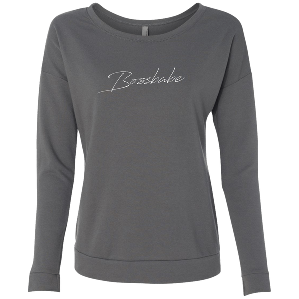 Bossbabe Script Dark Graphic Sweatshirt