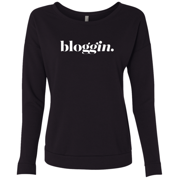 Bloggin Dark Graphic Sweatshirt