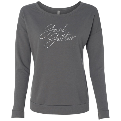 Goal Getter Script Dark Graphic Sweatshirt