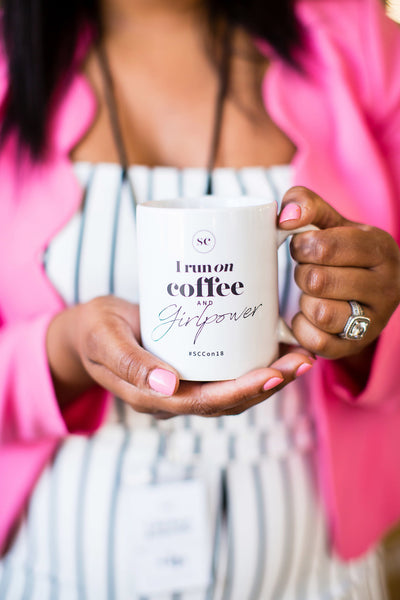 Coffee and Girlpower SC Coffee Mug