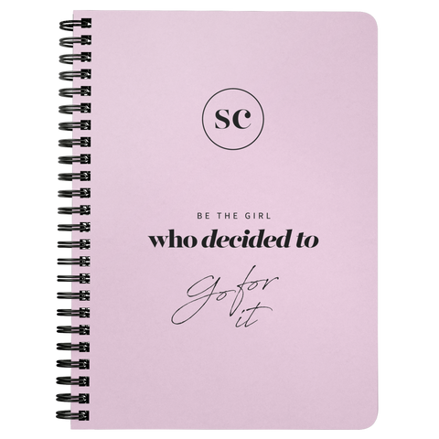 SC Go For It Notebook