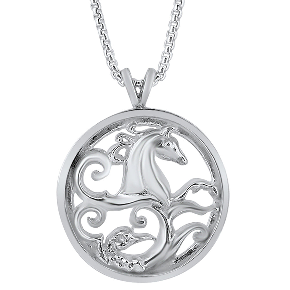Silver Warrior Pendant