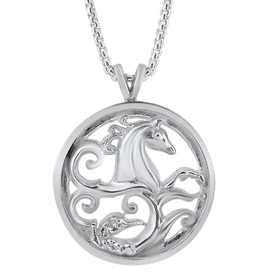 Load image into Gallery viewer, Silver Warrior Pendant