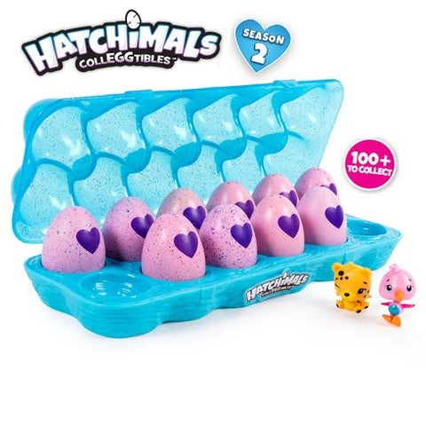 Hatchimals Colleggtibles One Dozen Egg Carton - Season 2