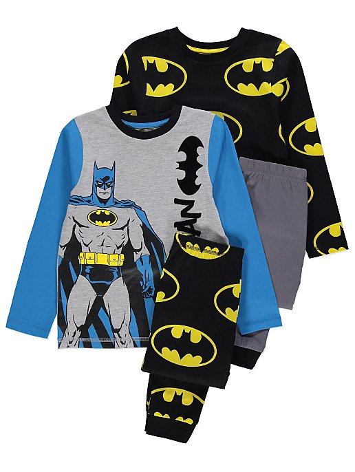 Lasten Batman pyjama 2 pack