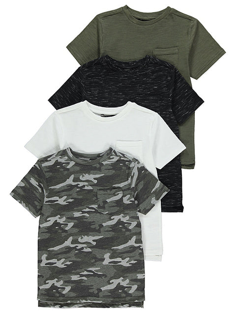 Camo t-paidat 4 pack