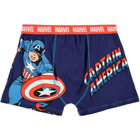 Miesten Marvel Captain America bokserit