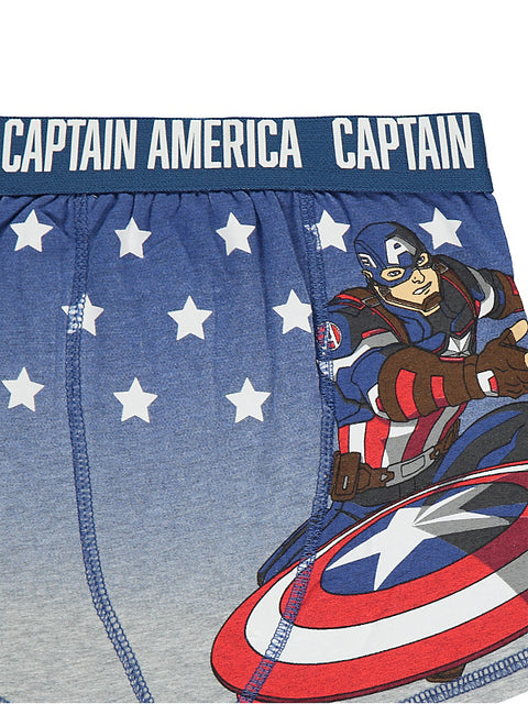 Marvel Captain America bokserit 3 pack