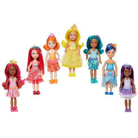 Barbie Dreamtopia Rainbow Cove Chelsea nukke setti