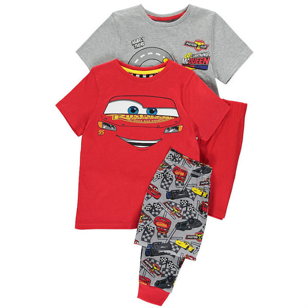 Lasten Disney Cars pyjamat 2 pack