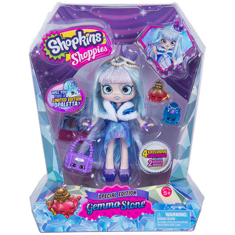 Shopkins Shoppies Limited Edition Gemma Stone nukke