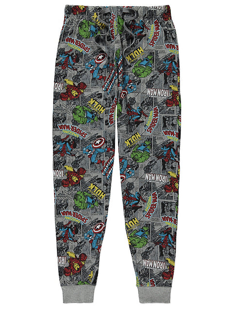 Miesten Marvel Comics pyjamahousut