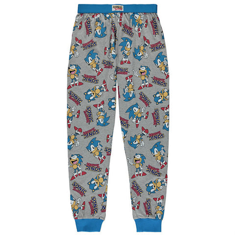 Miesten Sonic The Hedgehog pyjamahousut