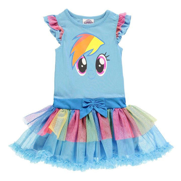 Lasten My Little Pony Rainbow Dash tutumekko