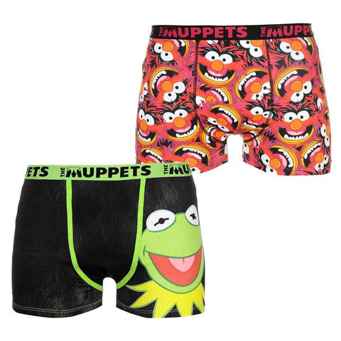 Miesten The Muppets bokserit 2 pack