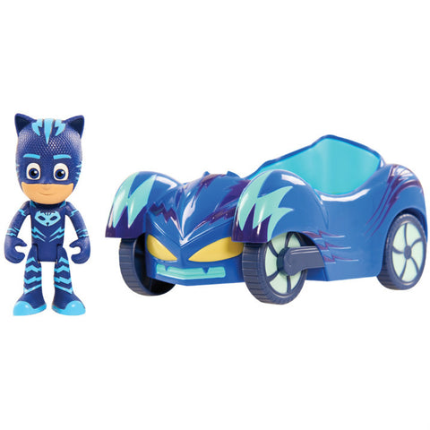 PJ Masks Cat Boy figure ja kulkuneuvo