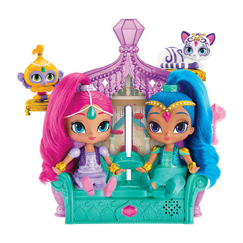 Shimmer ja Shine Float & Sing Palace Friends leikkisetti