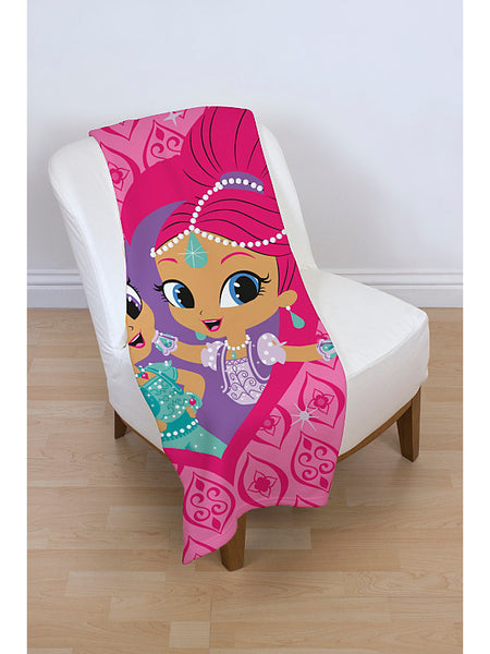 Shimmer ja Shine fleecepeitto