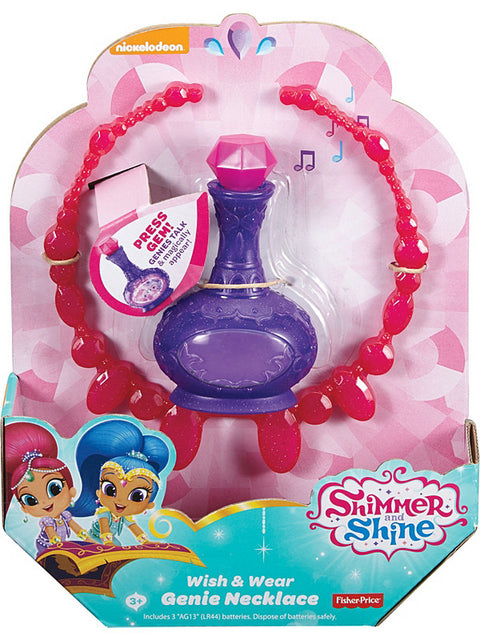 Shimmer ja Shine Wish & Wear Genie kaulakoru