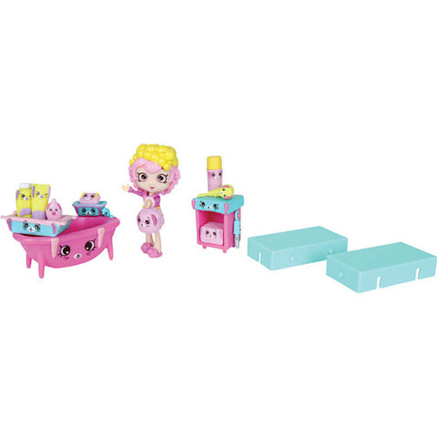 Shopkins Happy Places Welcome Back-Bathing Bunny leikkisetti