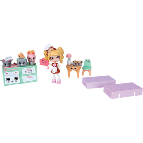 Shopkins Happy Places Welcome Pack-Kitty Kitchen leikkisetti