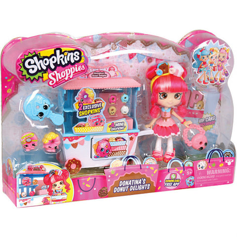 Shopkins hoppies 'Donutina's Donut Delights' lelusetti