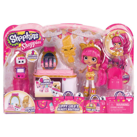 Shopkins Shoppies Lippy Lulu's Beauty Boutique leikkisetti