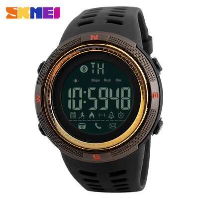 New Bluetooth Smart Watch SKMEI Brand For Apple IOS Android Digital Smartwatch 50M Waterproof Fashion Pedometer Sport Watches