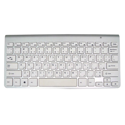 Portable Mute Keys Keyboards 2.4G Ultra Slim Wireless Keyboard Scissors Feet Keyboard for Mac and Win