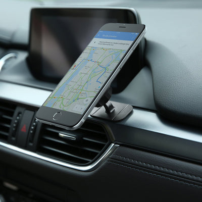 AUKEY 360 Degree Car Holder Stick-On Dashboard Cell Phone Holder Mobile Mount with Adjustable Angle