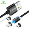 FLOVEME 1M Magnetic USB Cable , LED Magnet Charger