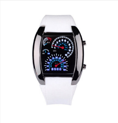 Fashion Led Digital Watch Unique Men'S Watch Rubber Sport Watches