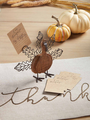 Thankful Turkey Card Set
