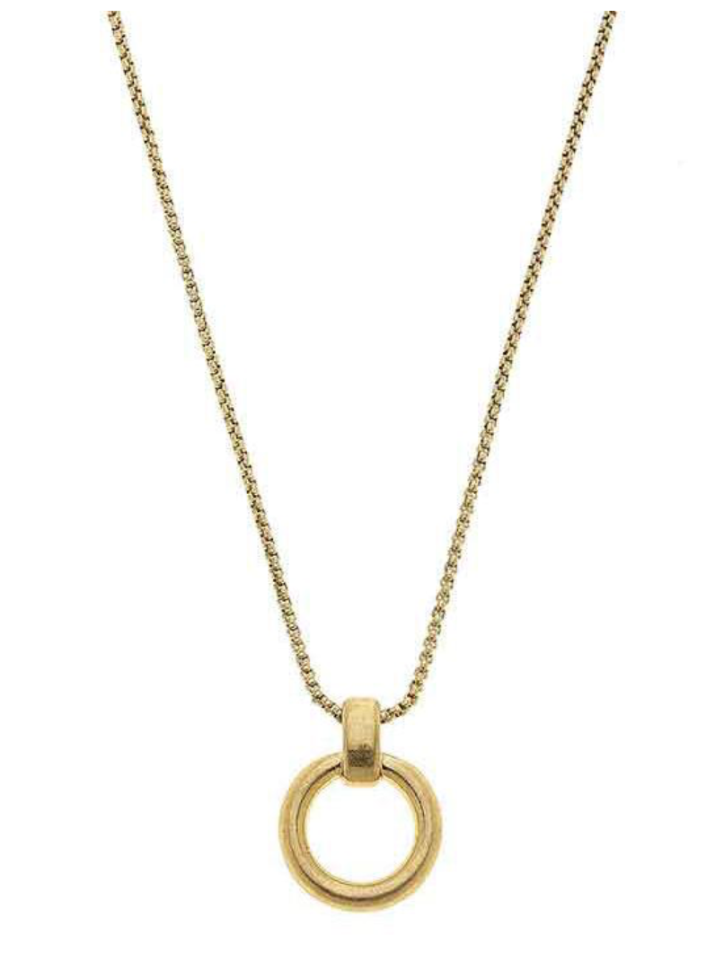 Paige O-Ring Necklace 21839N-GD