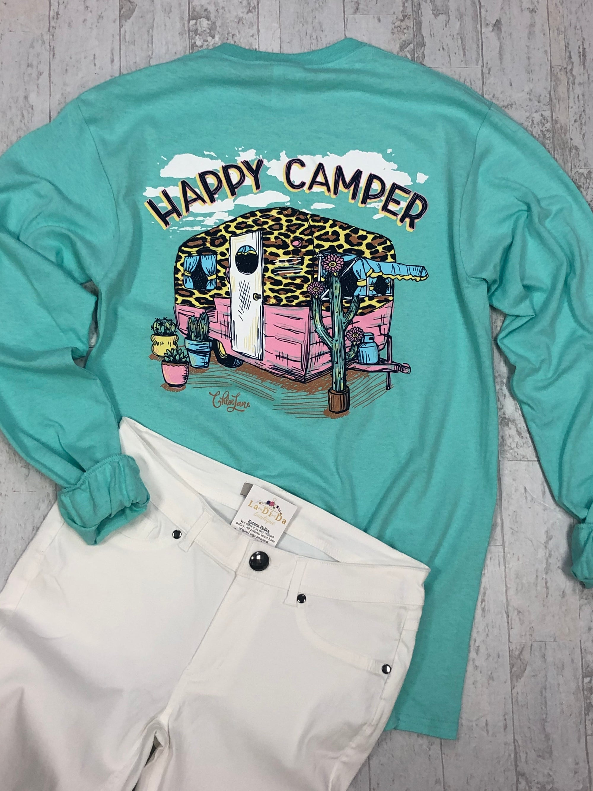Happy Camper Long Sleeve Chloe Lane