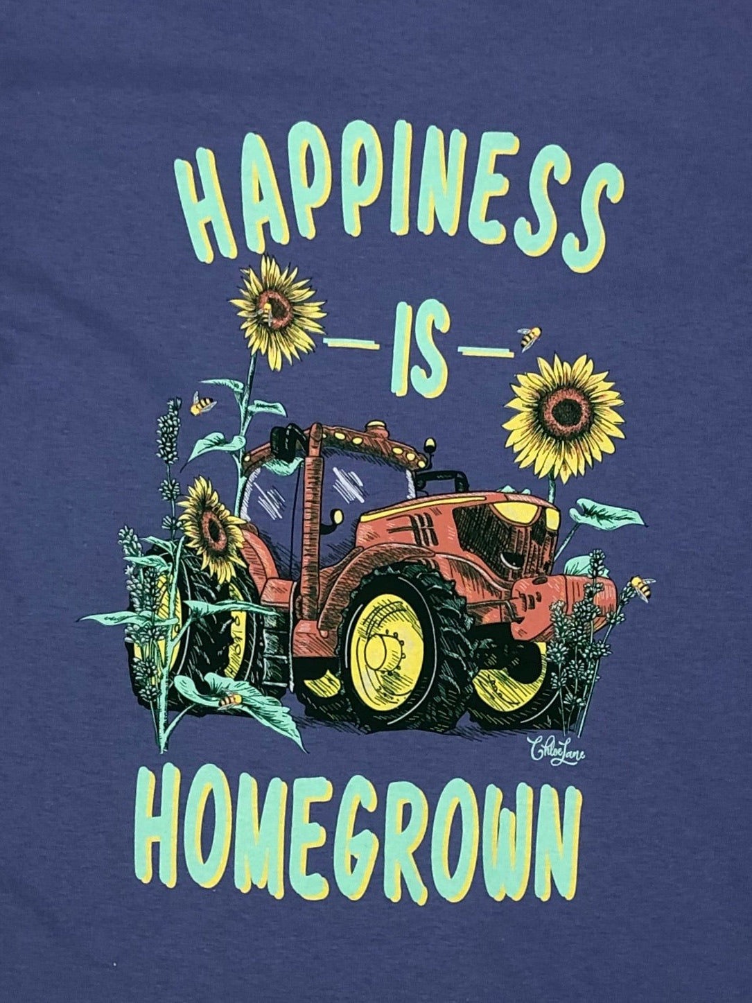 Happiness Is Homegrown Short Sleeve Chloe Lane