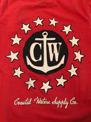 CW Stars Logo Red