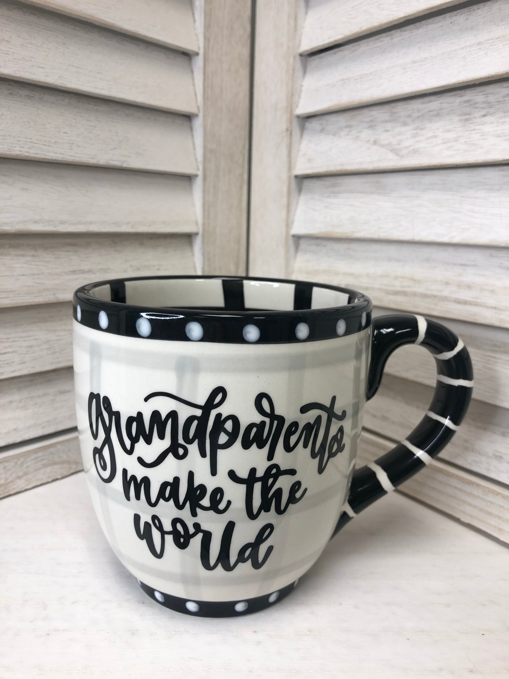 Grandparents Make the World Mug GH