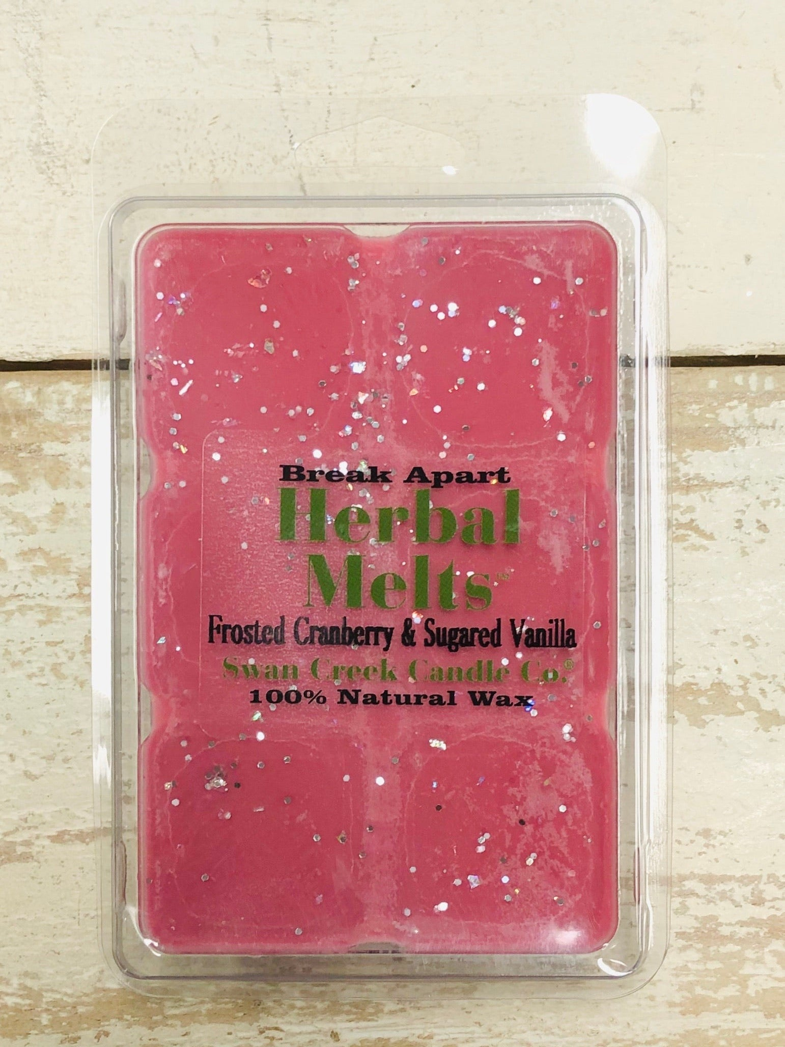 Herbal Melt, Frosted Cranberry/Sugared Vanilla