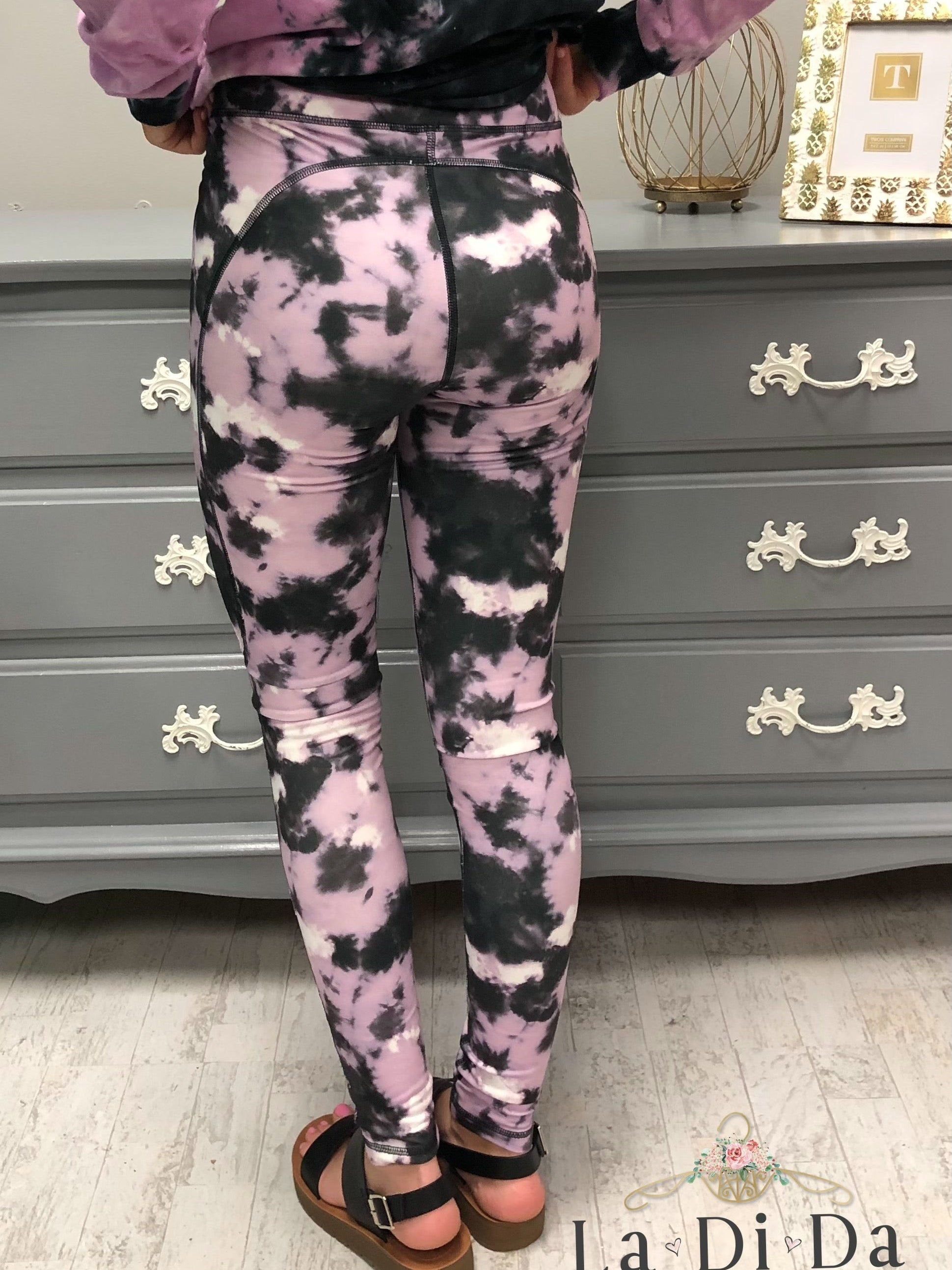 IE Esma Tie Dye Leggings