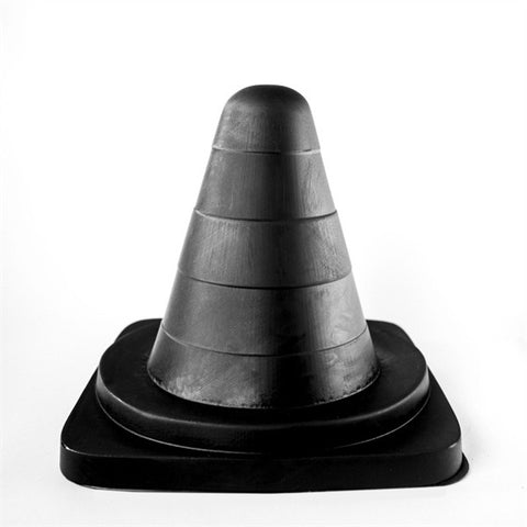 Traffic Cone 19cm - All Black