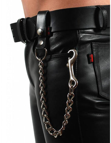 RoB Leather Beltchain with Keyring