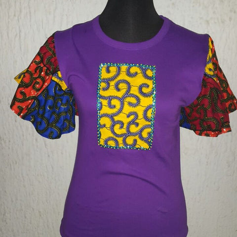 Purple Beauty - Ankara Boutique